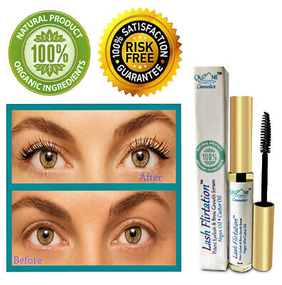 Quane Cosmetics Lash Flirtation - Eyelash Eyebrow Serum - Growth Stimulator