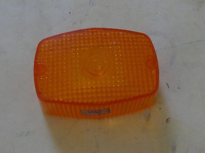 Moped Taillight Turn Signal Lens Amber