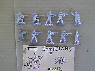 25mm Iron Brigade  The Egyptian series Egyptian Colonials Firing w/ Command