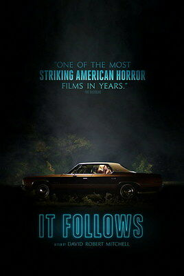 """001 It Follows - 2015 Terror Ghost USA Hot Movie  14""""x21"""" Poster"""