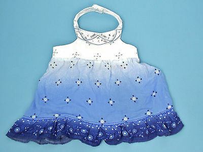 Build A Bear JUSTICE DRESS Blue OMBRE Halter Style