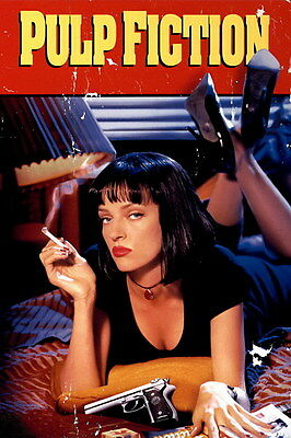 "002 Pulp Fiction - Quentin Uma Thurman Movie 14""x21"" Poster"