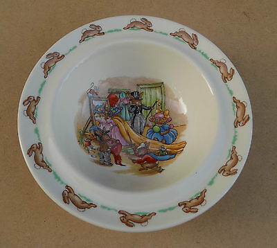 ROYAL DOULTON Bunnykins Bowl - Wedding Scene