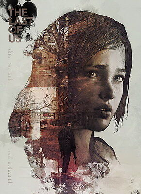 """015 The Last of Us - Zombie Survival Horror Action TV Game 14""""x19"""" Poster"""