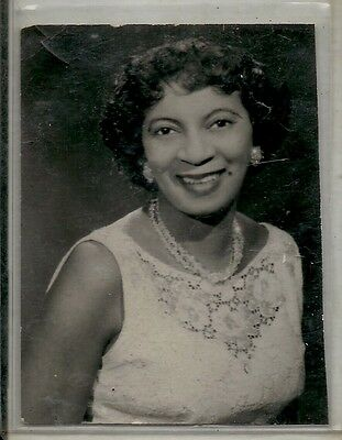 Antique Vintage African American Woman Pretty Lovely Old Photo Black Americana