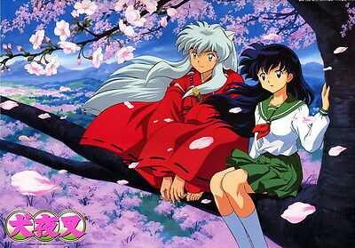 "021 InuYasha - Fight Hero Japan Hot Action Anime 20""x14"" Poster"