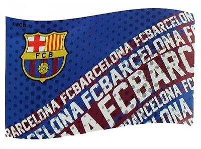 Barcelona FC Football Club Impact Flag Red Blue Supporter Fan Match Game Banner