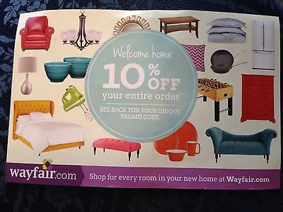 Wayfair coupon code 20 off any order
