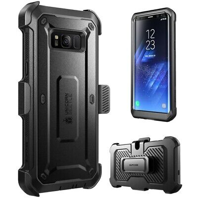 SUPCASE For Samsung Galaxy S8+ Plus Unicorn Beetle Pro Fully Rugged Case Black