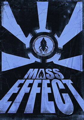 """035 Mass Effect 3 - ME Killer Fighting Shooting Hot TV Game 14""""x20"""" Poster"""