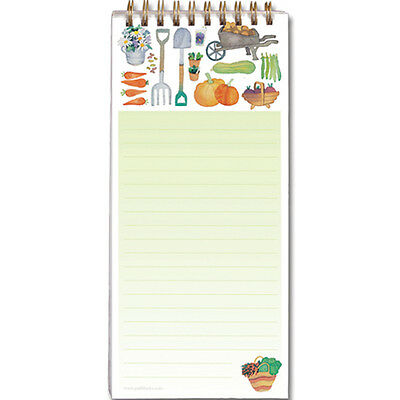 CLAIRE'S GARDEN MAGNETIC NOTEPAD / Home Shopping List Message Pad Magnet Memo