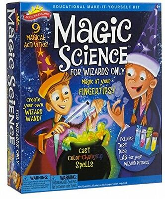 Scientific Explorer Magic Science Kit for Wizards Only - New, Fast Free Shipping