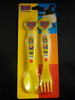 TIMMY TIME Childrens Childs Cutlery Set Fork Spoon TV Character - New