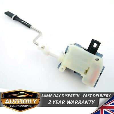 VW Fuel Filler Flap Lock Solenoid Motor Servo Golf Touran Passat 1T0810773A