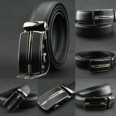 Buckle Waistband Mens Luxury Belt Waist Strap Belts Business Leather Automatic