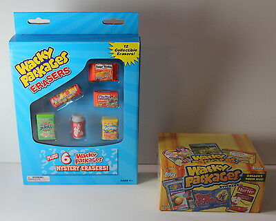 Wacky Packages Lot of 2 Series 11 2013 Trading Cards Stickers + 2013 12 Erasers