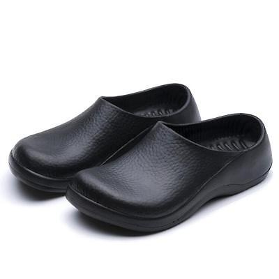 Men Chef Shoes in Kitchen Nonslip Safety shoes Oil & Water Proof for Cook  N