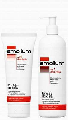 Emolium Body SKIN Emulsion - 400 ml.Emolium Emulsja do ciała - 400 ml