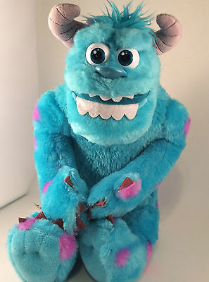 """Shake and Scare Sully Talking Moving 15"""" Monsters Inc. University Disney Pixar"""