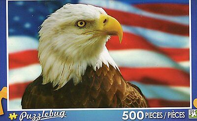 NEW Puzzlebug 500 Piece Jigsaw Puzzle ~  American Bald Eagle ~ FREE SHIPPING