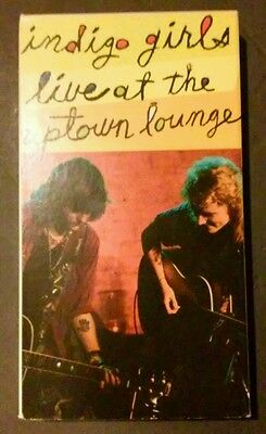 Indigo Girls - Live At The Uptown Lounge (1990 - VHS)  RARE!