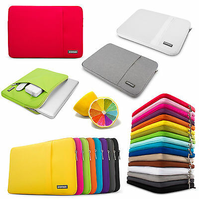 Notebook Laptop Sleeve Case Carry Bag For Mac MacBook Air Pro 11.6 13 15 17 inch