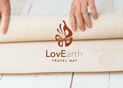 LovEarth Yoga Mat Natural Eco-Mat Environmentally Friendly Earth Positive