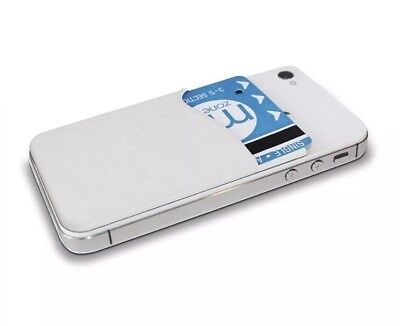 Slim ID & Credit Card Sleeve For Smartphone, Opal Card Holder