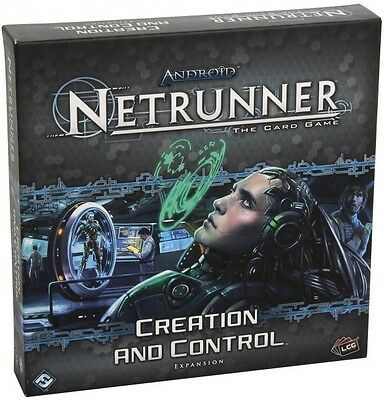 Android Netrunner Lcg Creation And Control Expansion  - BRAND NEW