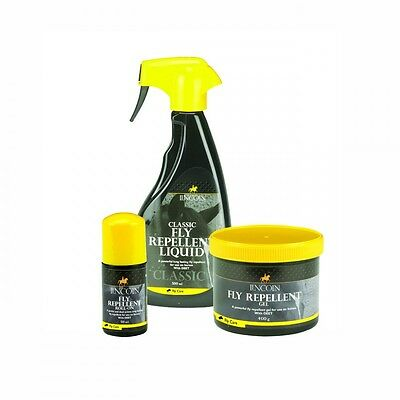 Horse / Pony Lincoln Fly Repellent Pack - Fly Spray, Gel and Roll on -with DEET.
