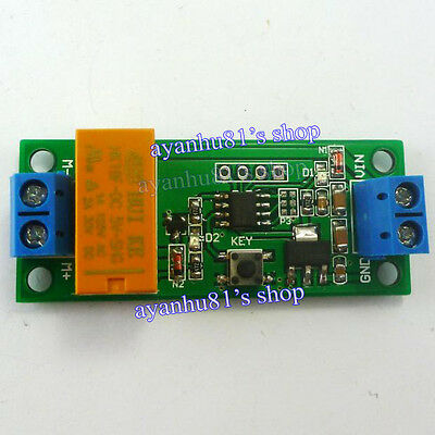 DC 5-12V Cycle Timer Timing Switch Delay Relay Motor Polarity Reverse Controller
