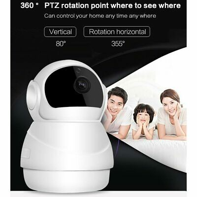 Tenvis Wireless WiFi HD 720P IP Camera Home Security Network CCTV Night Vision