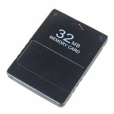 Brand New 32MB Memory Card For Sony Playstation 2 Storage Data