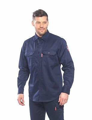 Portwest Fire Resistant Shirt FR 89 - the Bizflame 88/12 FR