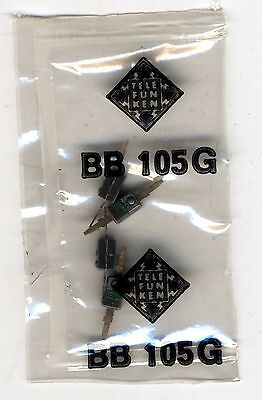 LOT DE 4 x BB105G - variable Capacitance / varactor diode / Diode varicap 30v