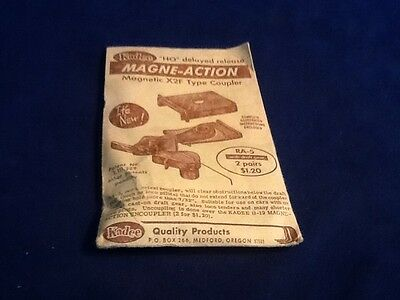 Kadee Magne-action Magnetic X2F Type Coupler HO Scale