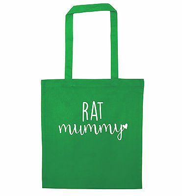 Rat mummy tote bag heart love animal pet rodent cage cute tumblr gift insta 2662