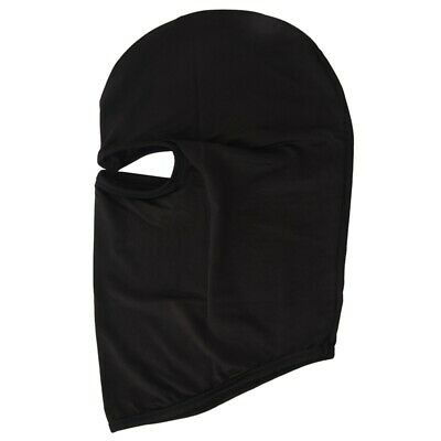 Outdoor Motorcycle Full Face Mask Balaclava Ski Neck Protection Black DT