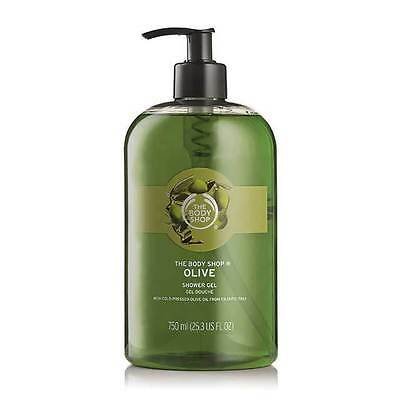 Body Shop Sale ◈ OLIVE ◈ Shower Gel ◈ Soap-free Lather-rich ◈ Jumbo 750ml