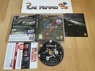 Play Station 3 Ps3 Gran Turismo 5 Completo Pal Uk