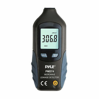 New Pyle PMD74 Digital LCD Microwave Leakage Detector/ Never Needs Recalibration