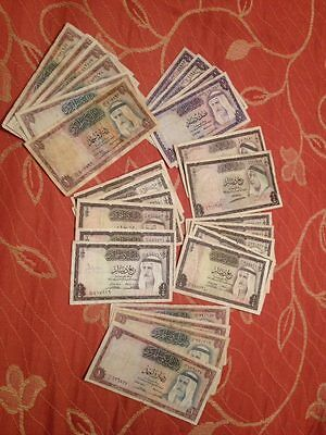 Central bank of Kuwait 1/4 dinar  27 pieces 1960 /1968