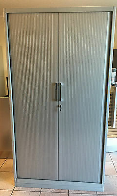 Full Height Tambour Office Storage Cabinet