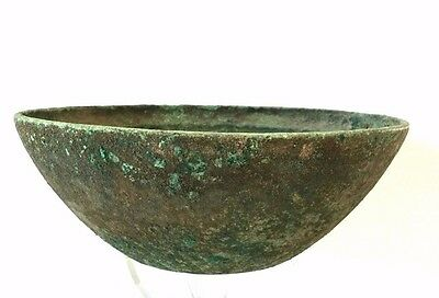 Ancient Near East Bronze Bowl.