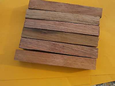 6 Blackwood Pen Blanks