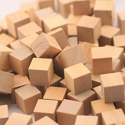 "10Pcs basswood carving wood block craft lumber *kiln dried* 2""x2""x2"" Loose"