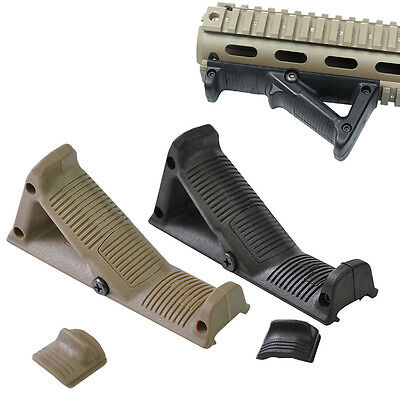 Tactical Military Airsoft Angled Fore Grip Finger Shelf For AFG2 Accessories