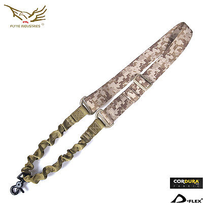 Flyye Army Single Point Sling Military Tactical Nylon Hunting Gear SL-S001 AOR1