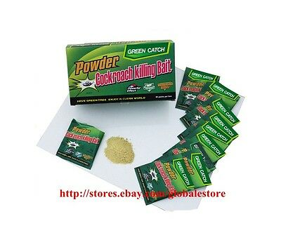 Green Leave Brand Miraculous Effective Powder Cockroach Killing Bait 5g GE2010