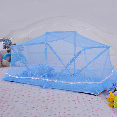 New Baby Nursery Mosquito Netting Infant Cradle Bed Canopy Folding Portable Tent